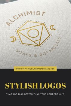 7 Premade stylish logo designs that will elevate your store.  Perfect for anyone on a budget, this custom logo comes at a premade price and will be customized by a professional designer to suit your colours and text.