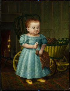 Sold - Joan R. Brownstein - American Folk Paintings