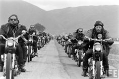 Hitching a ride with Hell's Angels and Friends. An original photo story from the LIFE Archives