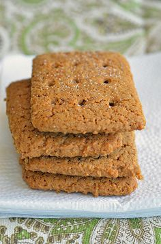 homemade graham crackers.  they have to chill but other than that pretty simple.  uses a food processor.