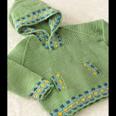 Valley Yarns274 Candy Spot Childs Hoodie