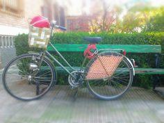Cubreruedas de ganchillo para bicicletas molonas