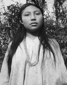 """Margarita de Bonompak, from the """"Manuel Alvarez Bravo"""" portfolio     Alvarez Bravo, Manuel, 1949"""