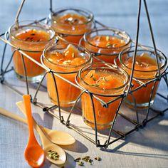Confiture de melon Mousse, Breakfast Tea, Stone Fruit, Light Recipes, Caramel Apples, Food Porn, Favorite Recipes, Cooking, Liqueurs