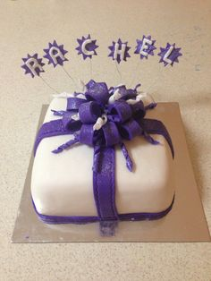 Rachel's 40th birthday cake