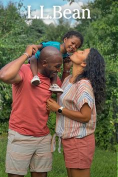 L.L.Bean Partner and wellness coach Troy Brooks shares some of the lessons spending time outdoors has taught him about family and fatherhood. Learn more: Ll Bean, Outdoor Fun, Troy, The Great Outdoors, Wake Up, Wellness, Teaching, Couple Photos, Happy