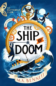 M.A. Bennett - The Ship of Doom / #awordfromJoJo #YoungAdult #HistoricalFiction #MABennett