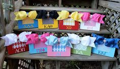 CUTE sorority picture frame!