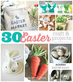 30 Easter Crafts & Projects