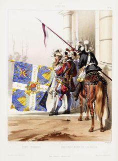 1610. Louis XIII. Cent-Suisses: Chevau-Léger de la Garde