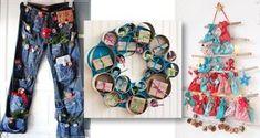 nápady jak si udělat vlastní adventní kalendář Advent, Crochet, Christmas, Xmas, Ganchillo, Navidad, Noel, Crocheting, Natal