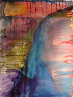 """A Secret"" by Sirkkaliisa Virtanen, watercolor Art, Watercolor Art, Painting"