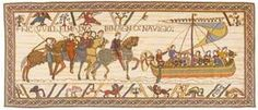Norman Conquest of England Tapestry - Bayeux Tapestries - William the Conqueror takes victory over Harold in the Norman Conquest of England Tapestry in this beautiful and educational work-of-art. This ...