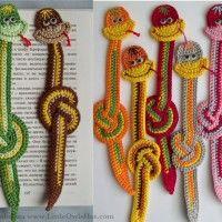Snake Crochet Pattern. Bookmark, toy, charm. New Year 2013.