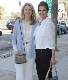 60-something super heroines! Wonder Woman Lynda Carter plays sidekick to the…