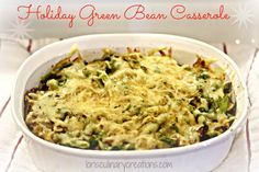 Holiday Green Bean C