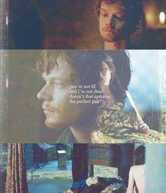 Theon Greyjoy amd Jeyn Poole