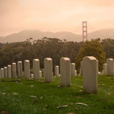 San Francisco National Cemetery - A national cemetery, and the first on the West Coast of the United States, located in the Presidio of San Francisco.