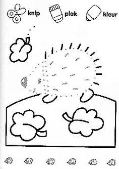 Knutselen: Kleur- en knipknutsels