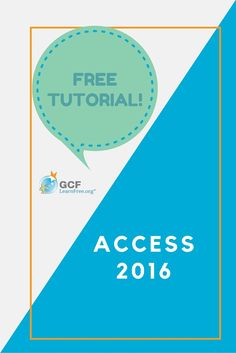 BIG NEWS! We have completed all of our Office 2016 tutorials, and Access 2016 is now available. If you've never used Access or just need a refresher, check out our free tutorial to start learning today!
