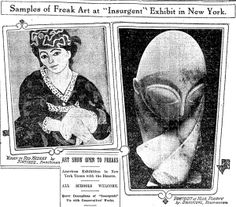 Information about Armory Show in NY, 1913 // Chicago Tribune. Times change!