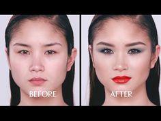 Charlotte Tilbury Cosmetics : How to create The Rebel Makeup Look (Aug Charlotte Tilbury Looks, Charlotte Tilbury Makeup, Smudger, Lip Lacquer, Pencil Eyeliner, Smoky Eye, Makeup Tutorials, Beauty Make Up, Lip Liner