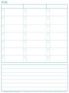 ToDo List – Free Printable - Somewhat Simple