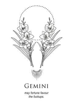 Gemini tattoo