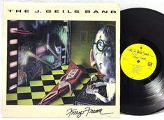 The J. Geils Band Freeze Frame 1981 LP #VinylRecords SOO-17062 EMI Label