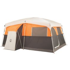 Coleman - 8 Man Tent | Big Camping Tents | Coleman - Jenny Lake™ 8P Fast Pitch™ Cabin with Closet