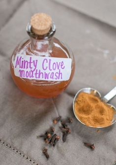 Natural Mint Clove Mouthwash | HelloNatural.co
