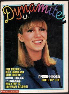 Vintage Music, Vintage Ads, Pop Magazine, Magazine Covers, Gibson Lp, Sara Gilbert, Love The 90s, Debbie Gibson, Women In Music