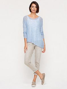 EILEEN FISHER: Chambray Skies