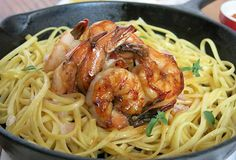 Maple Glaze Beurre-Blanc Shrimp over Linguine, a recipe by Michael-Ann Rowe. Cook this pasta dish with Wild American Shrimp for a sweet, creamy dinner meal. Shrimp Gumbo, Shrimp Linguine, Linguine Recipes, Shrimp Dishes, Pasta Dishes, Crawfish Cornbread, Crawfish Etouffee, Sausage Gumbo, Maple Glaze
