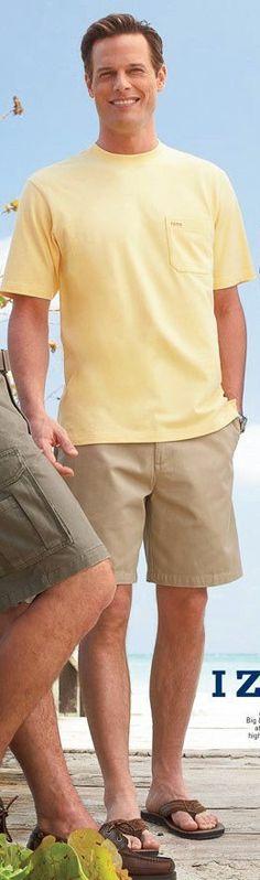 Brett Hollands for Belk (June 2006) #BrettHollands #malemodel #model #malesupermodel #supermodel #Canadian #Belk #Wilhelmina #WilhelminaModel #WilhelminaModels #FordModels #FordModels_Chi #NextModels #smile #yellow #tee #teeshirt #tshirt #shorts #sandals
