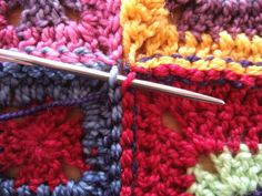 how to join granny squares
