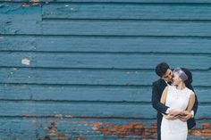 Wedding photos in Meatpacking. New York City Hall Wedding captured by NYC wedding photographer Ben Lau.