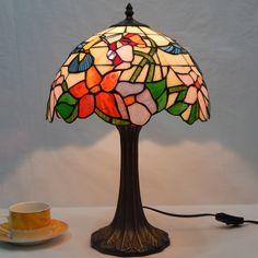 Humming Bird Tiffany Lamp12S10-1T325