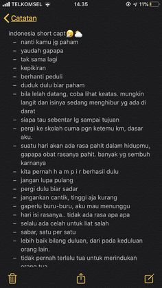 there's typo right there, so manyyy, im sorryy Message Quotes, Reminder Quotes, Text Quotes, Mood Quotes, Quotes Lucu, Cinta Quotes, Quotes Galau, Good Quotes For Instagram, Instagram Captions For Selfies