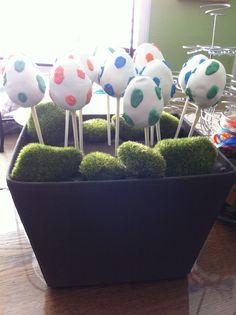 dino egg cake pops