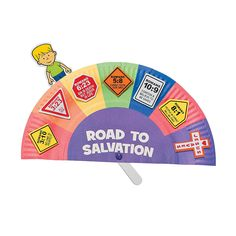 Road to Salvation Paper Plate Craft Kit - OrientalTrading.com