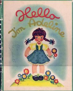Hello, I'm Adeline by Frida Sarsen-Bucky | LibraryThing