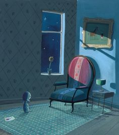 Oliver Jeffers -the Heart and the Bottle