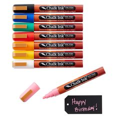Classic Chalk Markers Pkg/8 I want these!!!