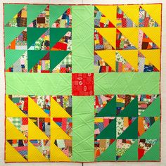 """Amazing """"Handy Andy"""" quilt from Bits and Bobbins blog"""