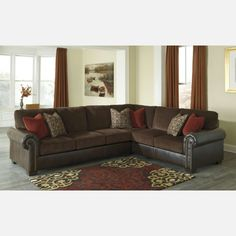 Corner Wedge RAF Sofa  - ll fabrics are pre-approved for wearability and durability against AHFA standards. Cushion cores are constructed of low melt fiber wrapped over high quality foam.