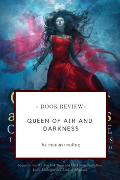 """Queen of Air and Darkness -Cassandra Clare """"What if damnation is the price of true love? Innocent blood has been spilled on the steps of the Council Hall, the sacred stronghold of the Shadowhunters. Lord Of Shadows, Lady Midnight, Forbidden Love, The Dark Artifices, Queen, Cassandra Clare, Book Reviews, Book 1, True Love"""