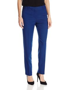 Anne Klein Women's Micro Check Pant ** This is an Amazon Affiliate link. Check out the image by visiting the link.