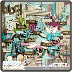 Is this gorgeous or what!? Captivated Visions is AMAZING! Love the Trashed Papers and the Overlays, too.