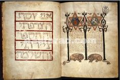 Everything Is Illuminated – Three rare medieval Hebrew Bibles on ...